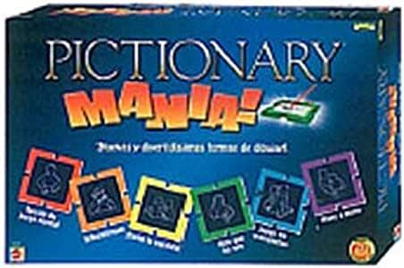 Mattel H9168 Pictionary Mania: Amazon.es: Juguetes y juegos