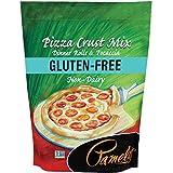 Pamela's Products Gluten Free Pizza Crust Mix, 4 Pound