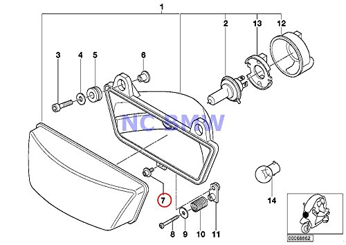 Amazon Com 8 X Bmw Genuine Motorcycle Fillister Head With Washer