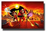 Incredibles 2 Poster Movie Promo 11 x 17 inches Wide NT