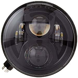 "JW Speaker 8700 Evolution 2 - 7"" Round LED Headlight - Black"