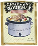 Crockery Gourmet Seasoning Mix for Pork 2.5-Ounce Packets (Pack of 12)