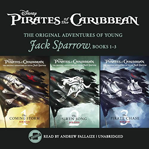 Pirates of the Caribbean: Jack Sparrow Books 1-3: The for sale  Delivered anywhere in USA
