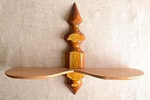 Étagère murale faite main Étagère pour plantes en bois originale Déco maison