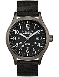 #TW4B06900 Men's Expedition Scout Military Indiglo Slip-Thru Band Watch