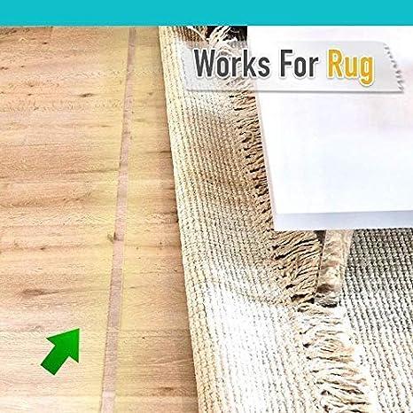 mingming52091 Washable Adhesive Tape Nano Double Sided Tape Traceless Grip Tape Transparent Gel Mat Tape Reusable Anti-Slip Gel Tape for Paste Photos Posters Key Fix Carpet Mat