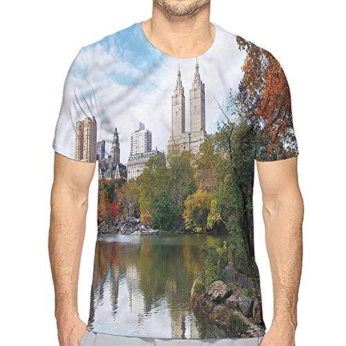 Funny t Shirt City,Manhattan Central Park Men's and Women's t Shirt -