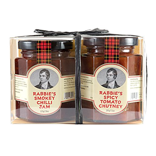 Duo of Rabbie's Spicy Tomato Chutney & Smokey Chilli Jam ()