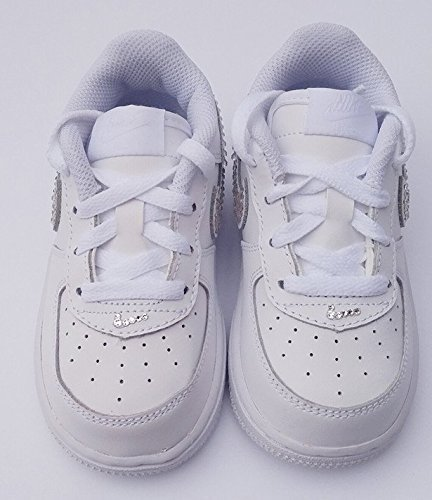 222ed66b44c42 Baby air force 1, Bling baby shoes, baby girl nike shoes, baby girl shoes,  ...