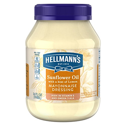 e Dressing, Sunflower Oil with a hint of Lemon 24 oz ()