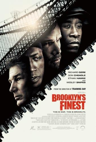 Brooklyns Finest Poster 24in x36in