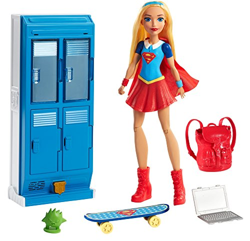 Mattel DC Super Hero Girls Supergirl Locker Accessory & Doll