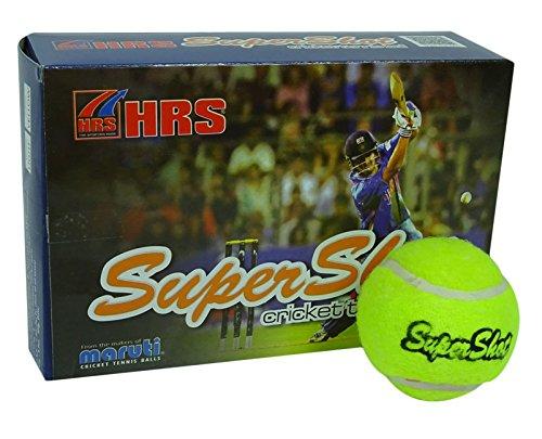 hrs-maruti-supershot-rubber-tennis-cricket-green-ball-pack-of-6-light-weight