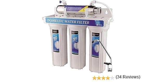 4 – Etapa agua potable filtro UV luz ultravioleta purificador para ...