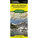 Alpine Lakes Wilderness [Mt. Baker-Snoqualmie and Okanogan-Wenatchee National Forests] (National Geographic Trails Illustrated Map)
