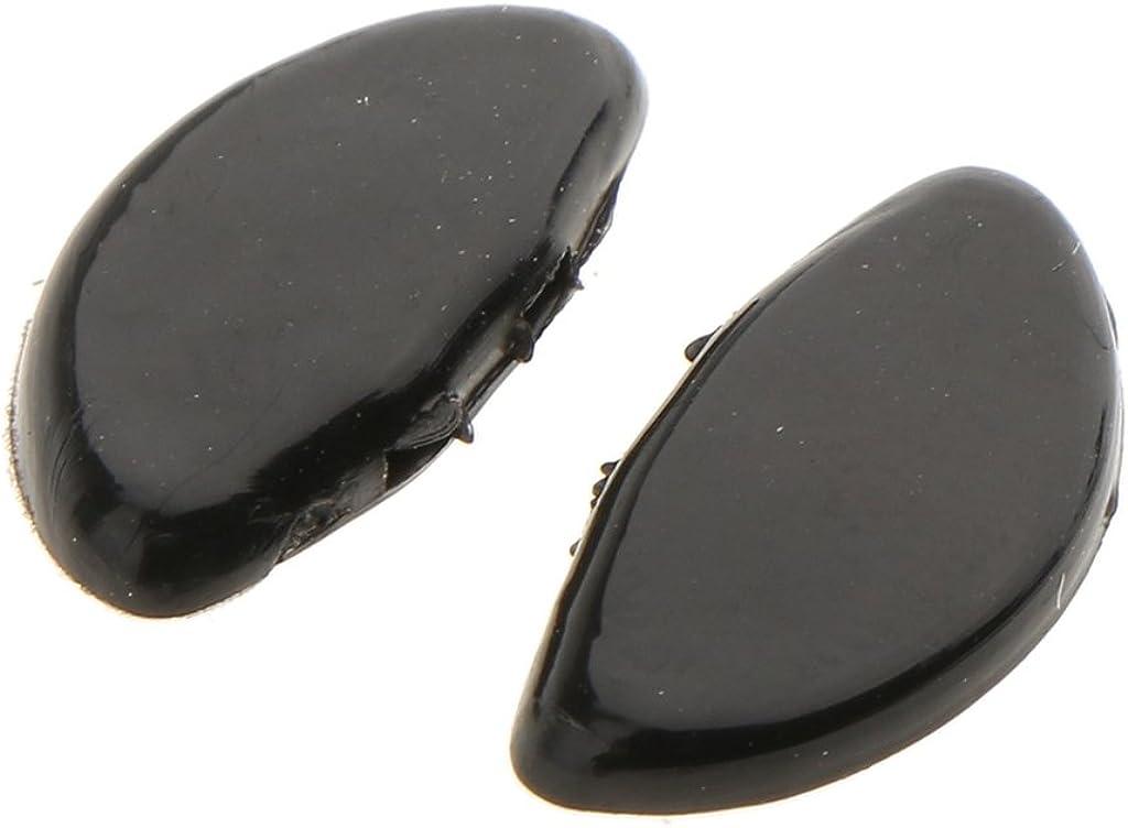CUTICATE 25 Paia Di Naselli In Silicone Push Per Occhiali Occhiali Da Vista 15mm