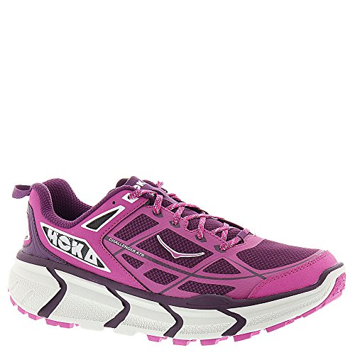 Hoka One One Womens W Challenger Atr Fushia/Plum Running Shoe 10 Women US