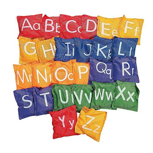Fun Express - Alphabet Bean Bags- 5