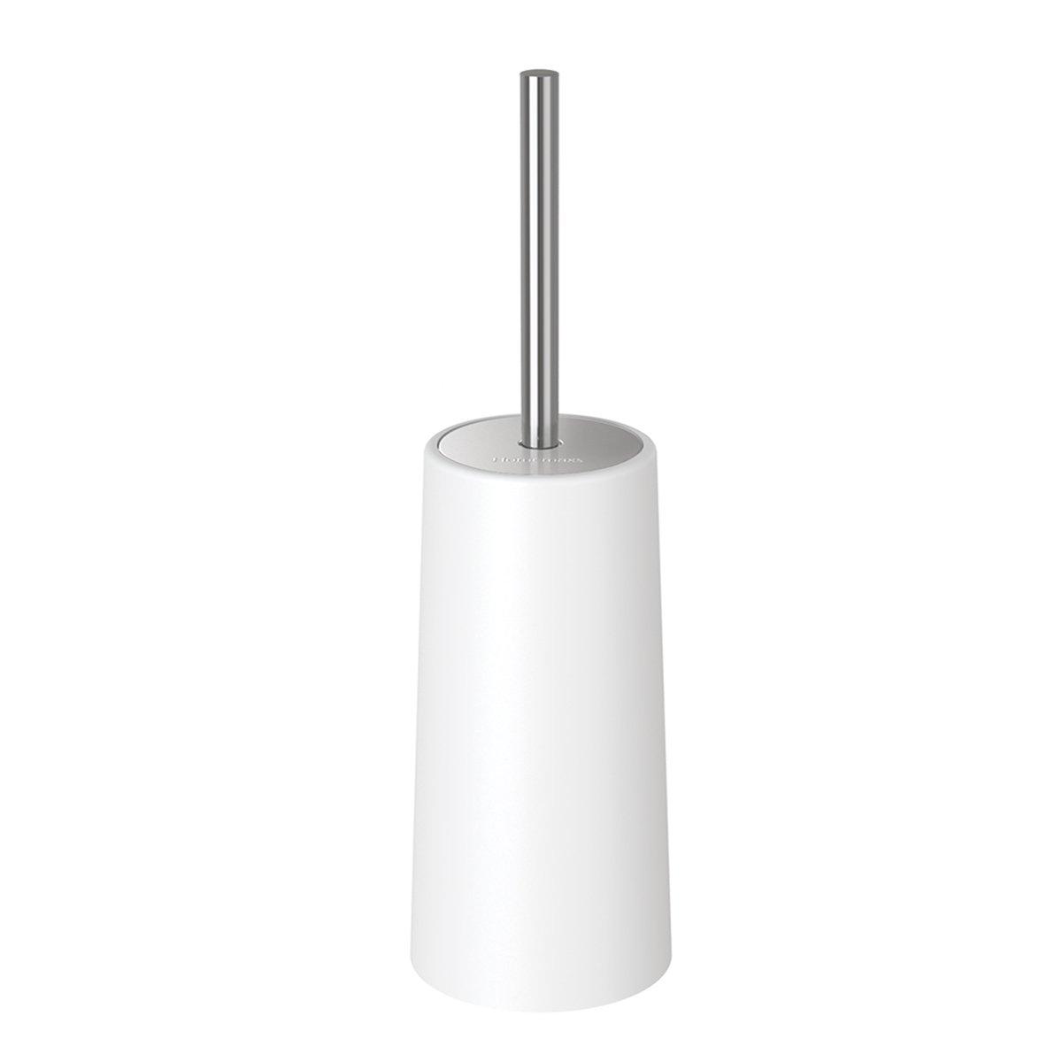 HOMEMAXS Toilet Brush Holder Modern Design Longer Brush Heavy Enough Bathroom Toilet 191579625272