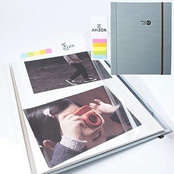 Amazoncom Lovely Self Adhesive Photo Album Book Scrapbooking