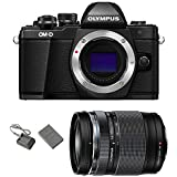Olympus OM-D E-M10 Mark II Mirrorless Micro Four Thirds Digital Camera [Black] Body with Olympus M.Zuiko ED 14-150mm f/4-5.6 II Lens