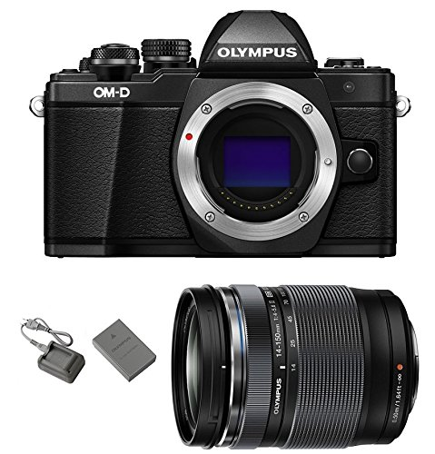 Olympus OM-D E-M10 Mark II Mirrorless Micro Four Thirds Digital Camera [Black] Body with Olympus M.Zuiko ED 14-150mm f/4-5.6 II Lens Review