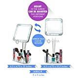 daisi Magnifying Lighted Makeup Mirror with
