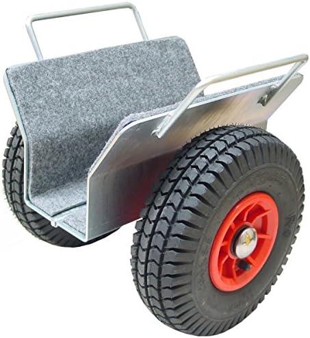 Plattenwagen mit Luftreifen, 250kg Tragfähigkeit