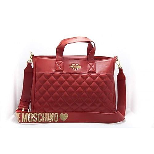 9a7ad0f879 Moschino Love Borsa Donna Rosso 33X24X9: Amazon.it: Scarpe e borse