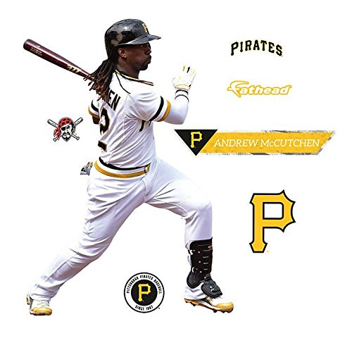 Andrew McCutchen - Swing Pittsburgh Pirates Fathead Teammate - Peel & Stick Decal