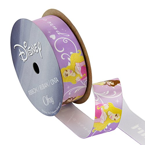 Lion Ribbon 7/8'' Disney Princesses Ribbon Pure Heart Multi, Gold/Red/Black]()
