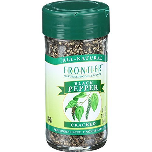 Frontier Natural Products - Black Pepper Cracked - 1.98 oz. ( Multi-Pack)