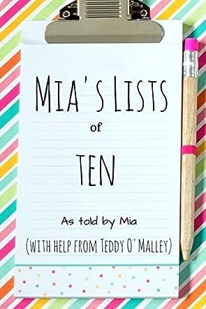 Mia's Lists of Ten