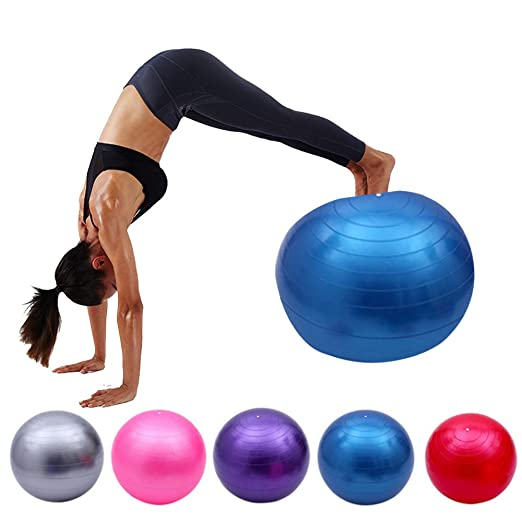 ZENWEN Bola De Yoga Engrosada Bola De Yoga A Prueba De ...
