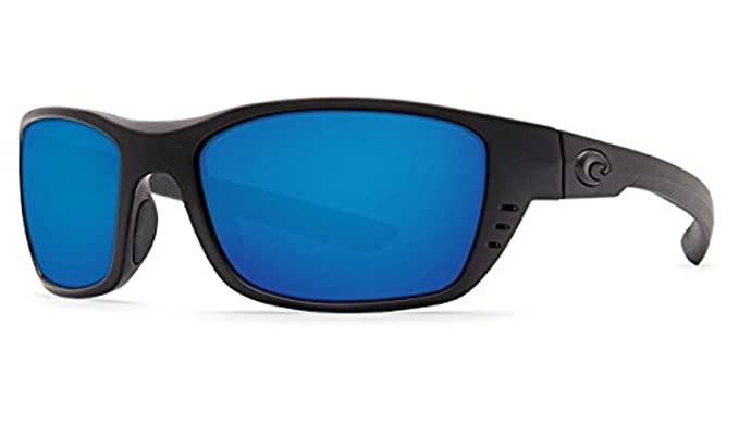741df2430 Costa Whitetip Sunglasses Blackout/Blue Mirror 580G & Cleaning Kit Bundle