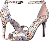 ALDO Women's CARDROSS Heeled Sandal, Pastel Multi, 6 B US
