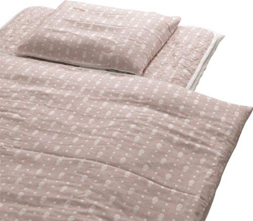 EMOOR Double Layered Matryoshka Cotton Gauze Comforter Cover, Japanese Twin Size -