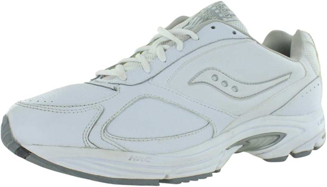 Brand New Saucony Omni Walker 2 Mens Wide Fit Leather Shoes