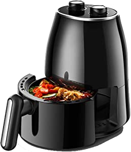 ZZHMW Super Deal 1230W Electric Air Fryer W/Timer, Temperature Control, Detachable Basket Handles Free Oil.