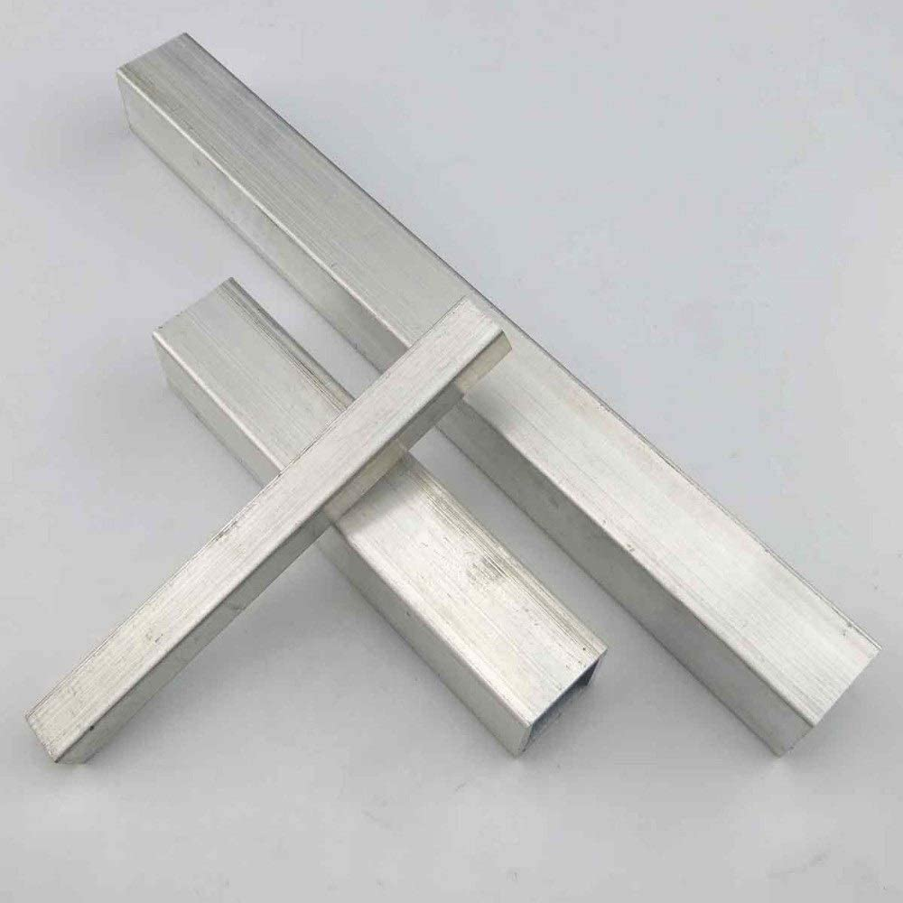 DIY Model Parts and Accessories DIY Frame Size : 10x10x100mm Metal Rod Engfgh Square Metal Aluminum Tube