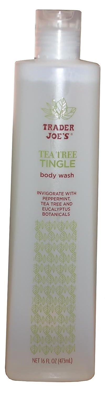 Trader Joe's Tea Tree Tingle Body Wash,16 ounce