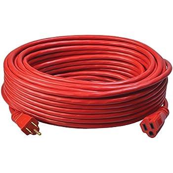 Coleman Cable 02409 14 3 Sjtw Vinyl Outdoor Extension Cord