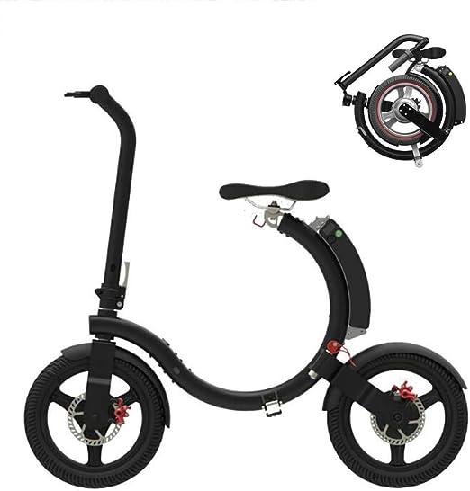 GOUTUIZI Bicicleta eléctrica Plegable, Bicicleta de Ciudad ...