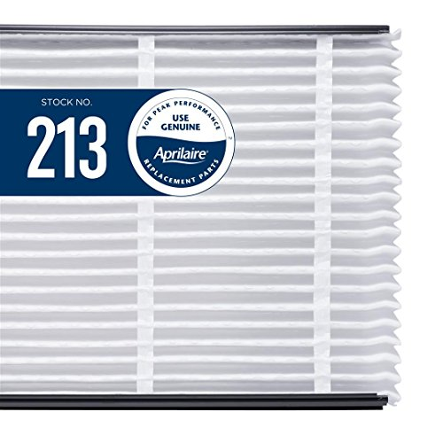 Aprilaire 213 Air Filter Single Pack for Air Purifier Models 1210, 2210, 3210, 4200, Space-Gard 2200