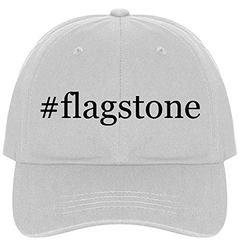 Flagstone Base - The Town Butler #Flagstone - A Nice Comfortable Adjustable Hashtag Dad Hat Cap, White, One Size