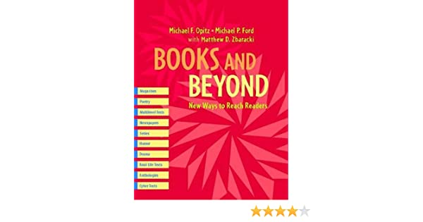 Books and beyond new ways to reach readers michael p ford michael books and beyond new ways to reach readers michael p ford michael f opitz matthew zbaracki 9780325007434 amazon books fandeluxe Gallery