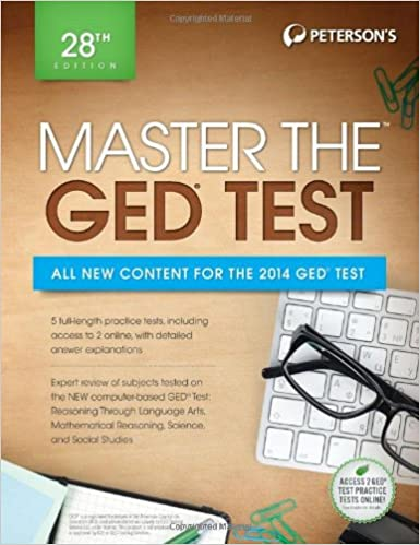 master the ged practice test 2 petersons