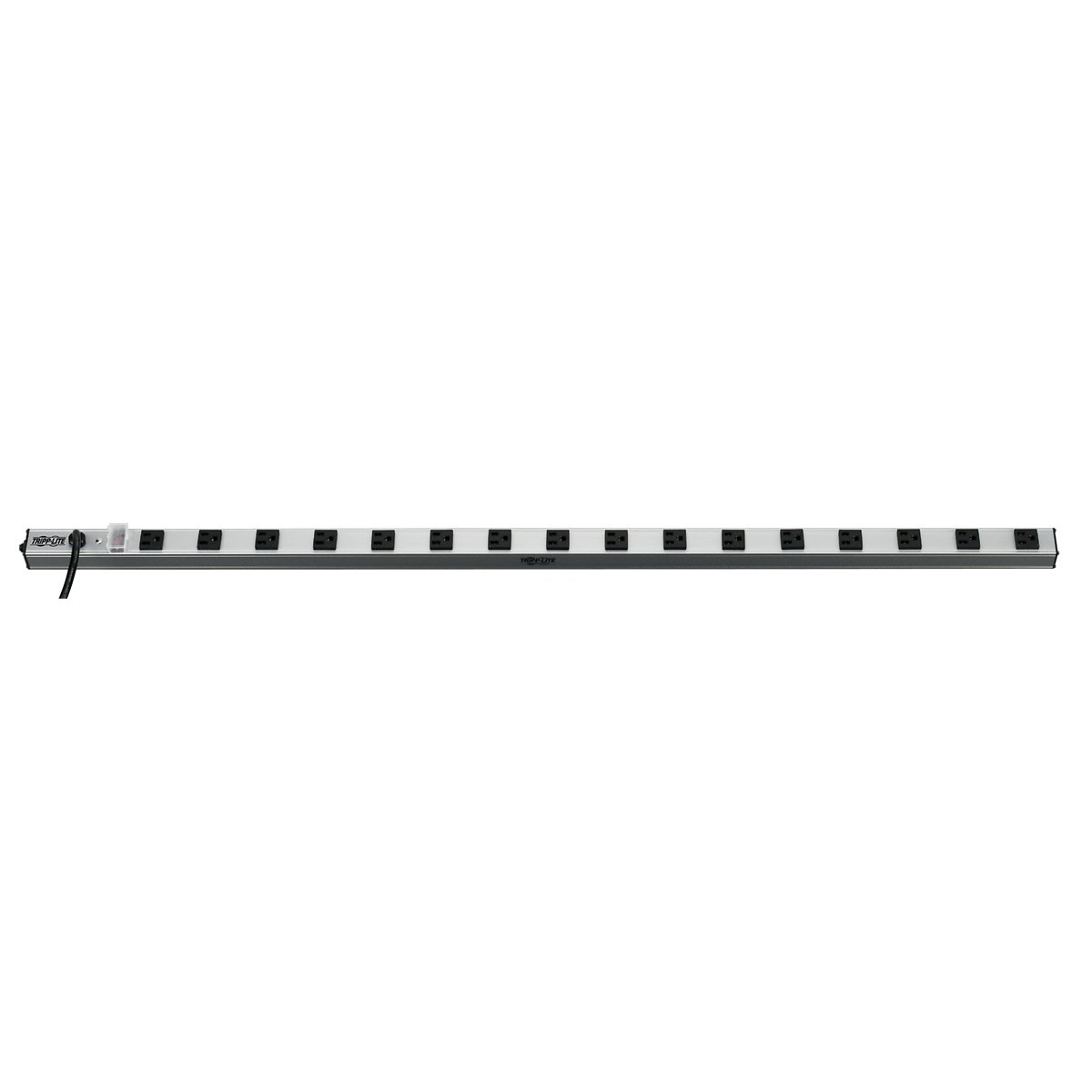Tripp Lite 16 Outlet Bench & Cabinet Power Strip, 48 in. Length, 15ft Cord with 5-15P Plug (PS4816)