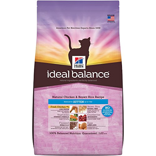 Hill's Ideal Balance Kitten Natural Chicken & Brown Rice Rec