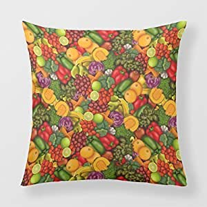Refiring Decorative Pillows For Sofa Red Pear Square Decorative Pillows